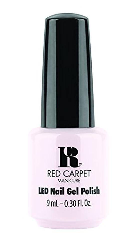 鰐成熟した有害Red Carpet Manicure - LED Nail Gel Polish - Candid Moment - 0.3oz / 9ml