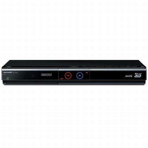 SHARP AQUOS ブルーレイディスクレコーダー 1TB ダブルチューナー 3D対応 BD-HDW80