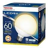 東芝ライテック LED電球 (ボール電球形・全光束730lm/昼白色相当・口金E26) LDG7N-G/60W LDG7N-G/60W