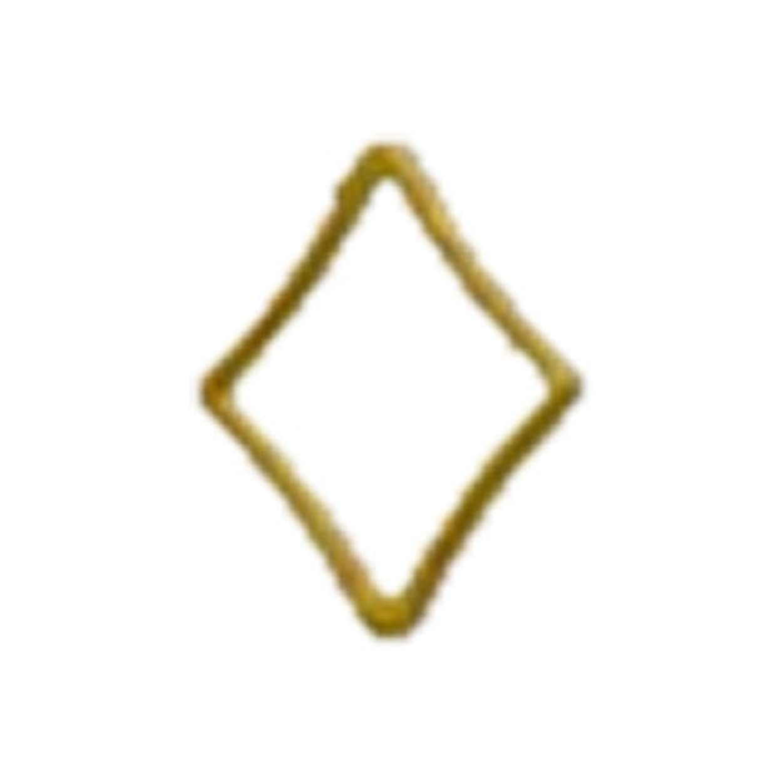 ピアノを弾く行政以前はリトルプリティー ネイルアートパーツ キラキラ 3S ゴールド 20個