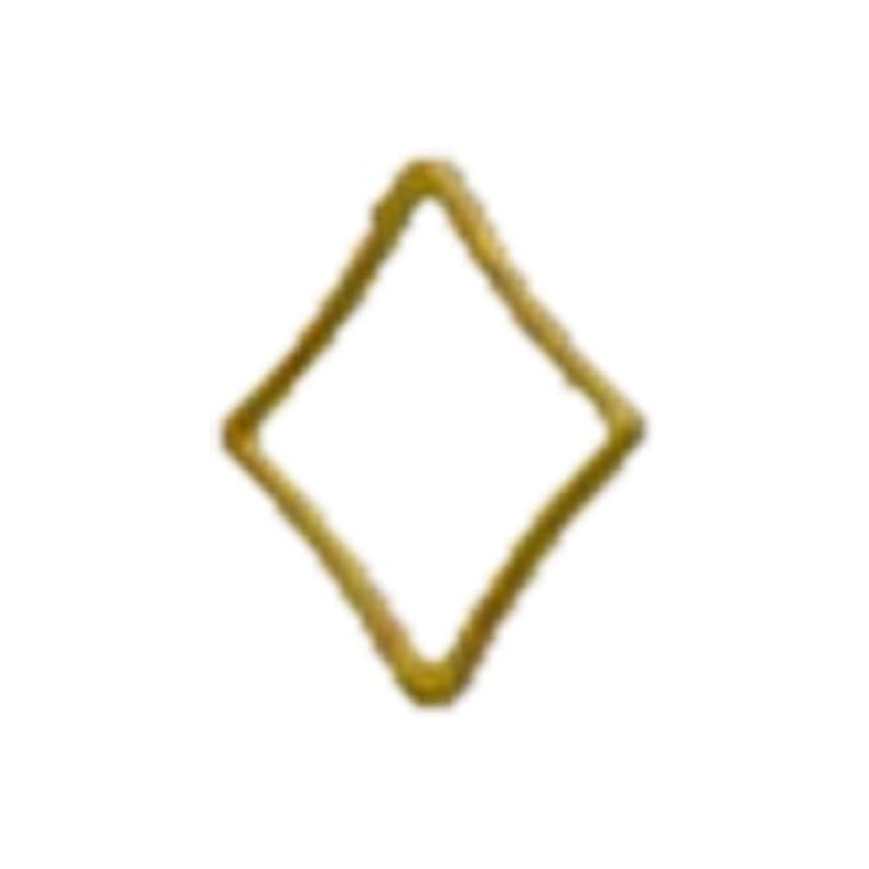 外交問題援助する記憶リトルプリティー ネイルアートパーツ キラキラ 3S ゴールド 20個