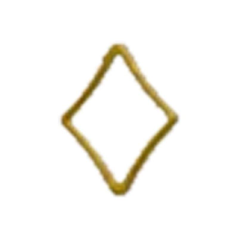 ダイヤルガムあいさつリトルプリティー ネイルアートパーツ キラキラ 3S ゴールド 20個