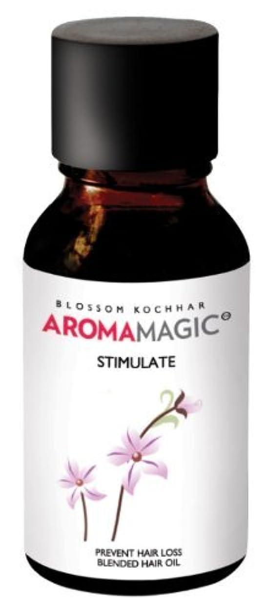 軽量ネーピアクルーズAroma Magic Blended Hair Oil Stimulate 15ml by Aroma Magic [並行輸入品]
