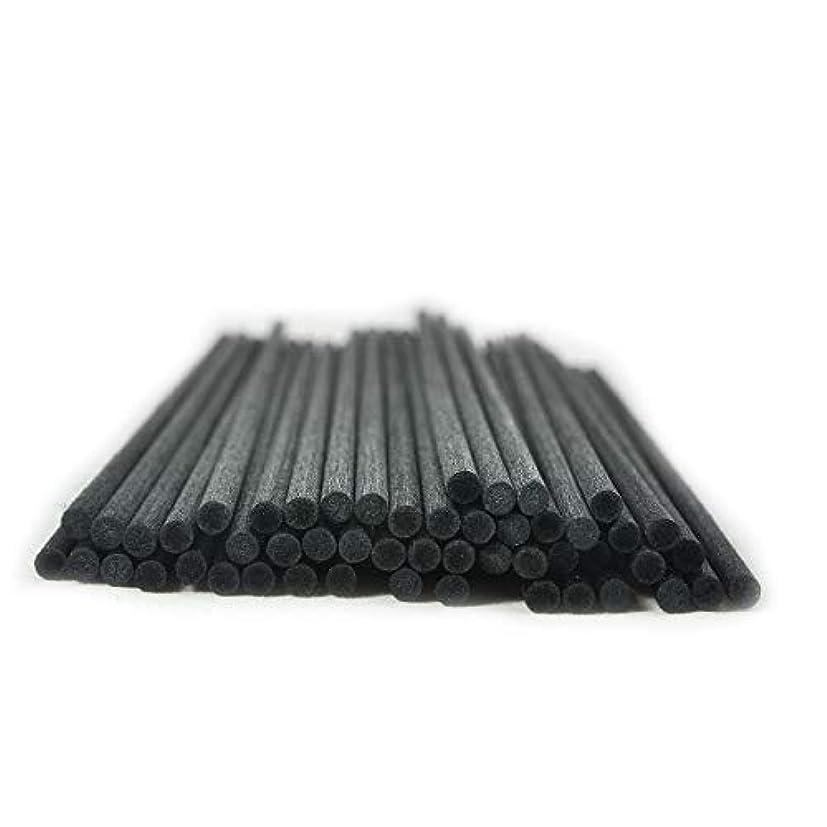 回答衰える弓50本入アロマファイバーディフューザー交換用スティック(25cm*4mm,黒)