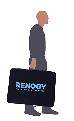 Renogy 100W 折畳式 高発電効率 太陽光発電 単結晶ソーラーパネル チャージー コントローラー付き 携帯便利 RV・キャンピングに最適