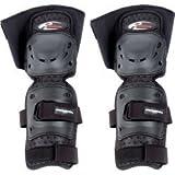 コミネ(Komine) 膝・脛プロテクター SK-607 エクストリーム ニーシンプロテクター ショート(左右セット) ブラック フリー 04-607