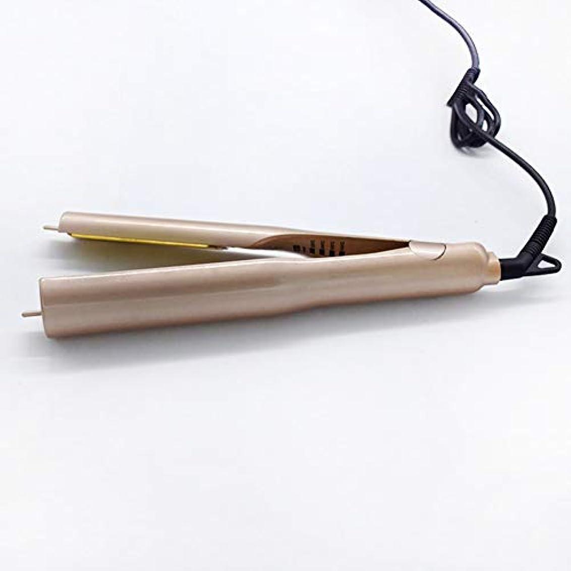 ワードローブハミングバード童謡ロールストレートデュアルユースウェットアンドドライデュアルユーススピードホットヘアストレートナーテール回転可能なセラミックヒーターチューブは、あらゆる種類のヘアゴールドギフトバッグに適した髪を傷つけることなく持ち運びが簡単
