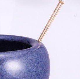 信楽焼 生子 火鉢型 灰皿 セット (灰*五徳付)  6095-05