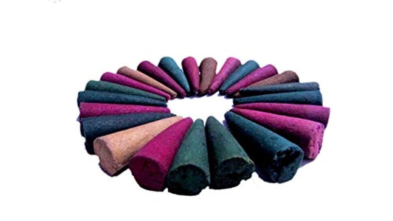 ロンドン余計な延ばすRNSD DHOOP CONE for Pooja and Multipurpose Use (Multicolor, 500Grams)