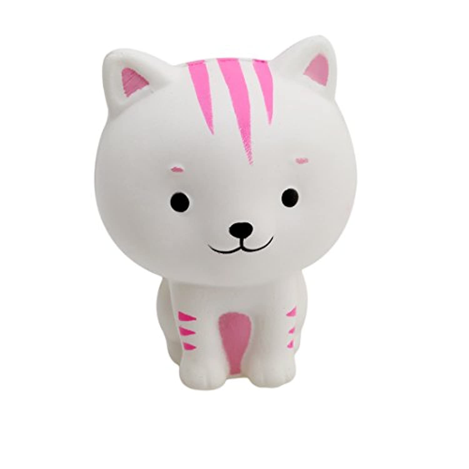 EdtoyホワイトSmall Cats Slow Rising Squeeze Small Mini Stress Relief Toy