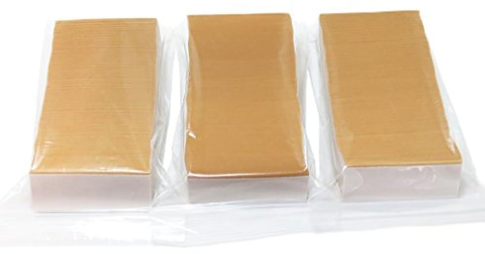 褐色手のひらポーチ《アイデア商品》剥がしやすい3M普通タイプ約340枚×3個=約1,020枚