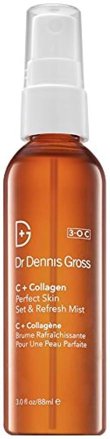 情緒的生ソビエトドクターデニスグロス C + Collagen Perfect Skin Set & Refresh Mist 88ml/3oz並行輸入品
