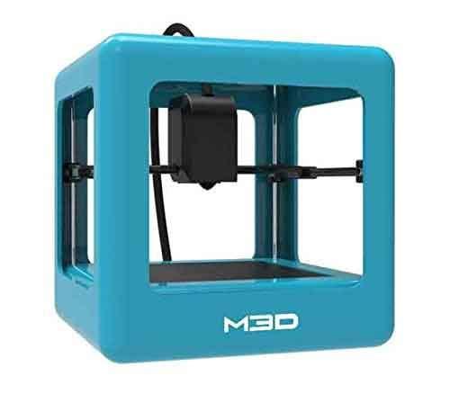 はじめの1台 M3D マイクロプラス 3Dプリンター 本体 ブルー【正規販売代理店】