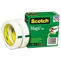 """Scotch 8102p3472マジックテープ、3/ 4インチx 2592、"""" 3""""コア、2/ Pack"""
