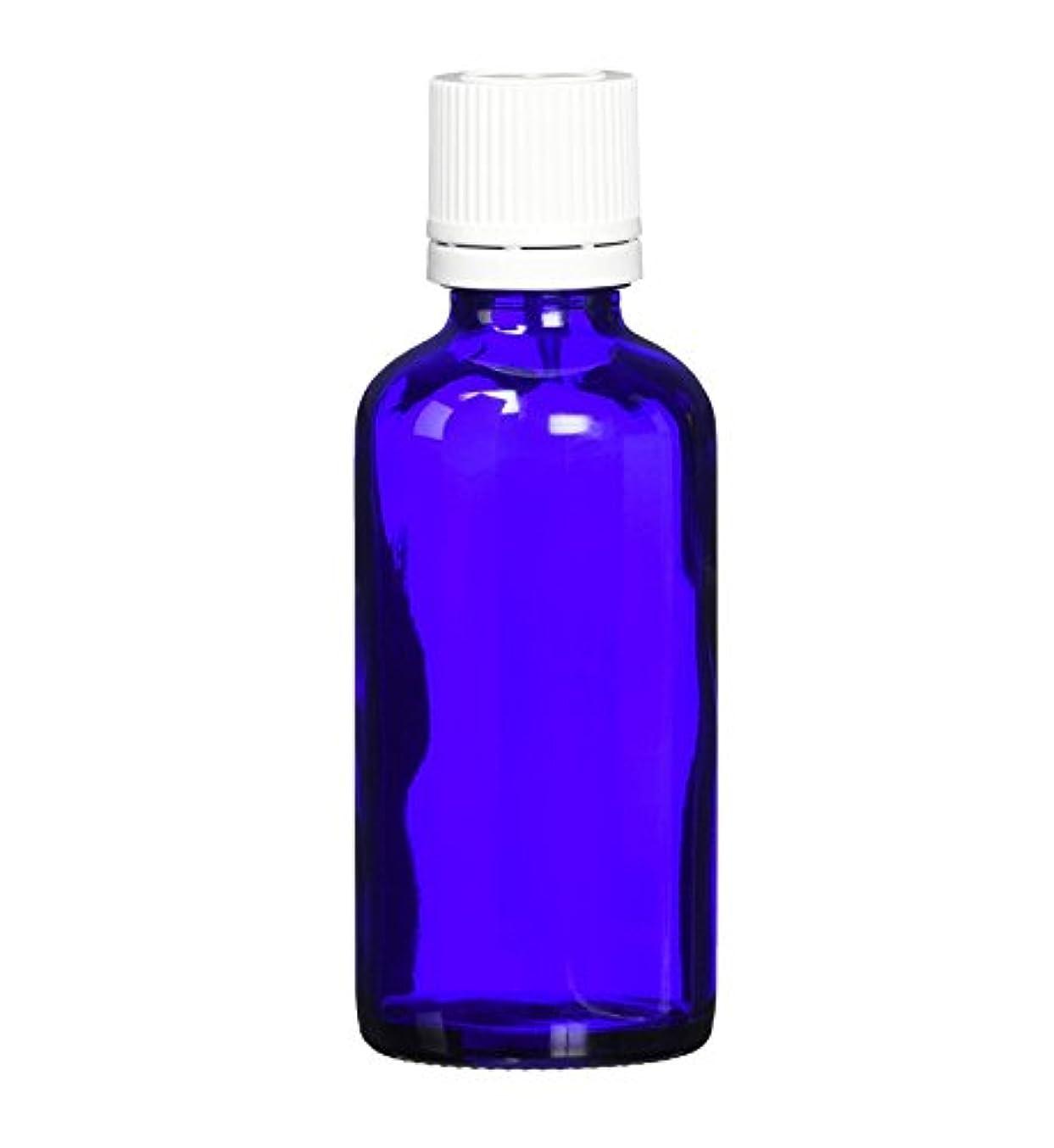 慢性的振る専門用語ease 遮光ビン ブルー 50ml(国産) ×5本