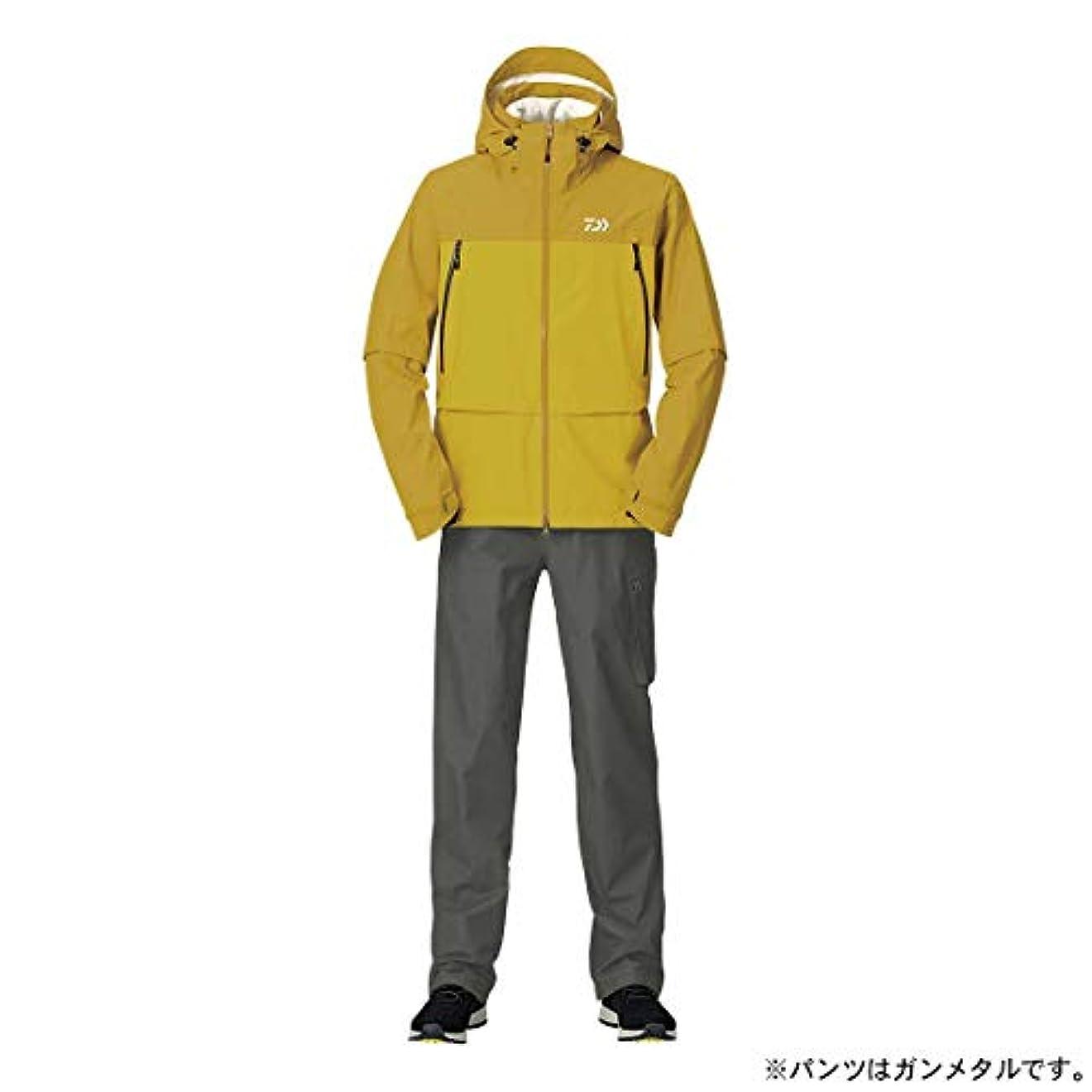 対称服を洗う子孫ダイワ(DAIWA) レインマックス デタッチャブルレインスーツ DR-30009 マスタード M