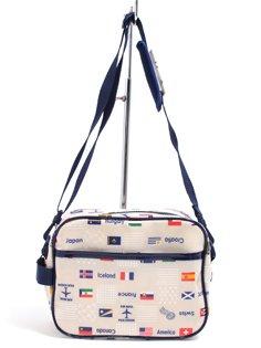いつも一緒のmy通園バッグ 国旗で旅する世界旅行(生成) 日本製 N0520200