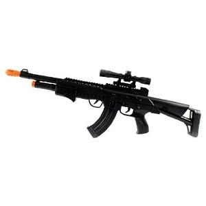 TD-2025 AK-47 Electric Toy Gun w/ Lights & Sounds フィギュア おもちゃ 人形 (並行輸入)
