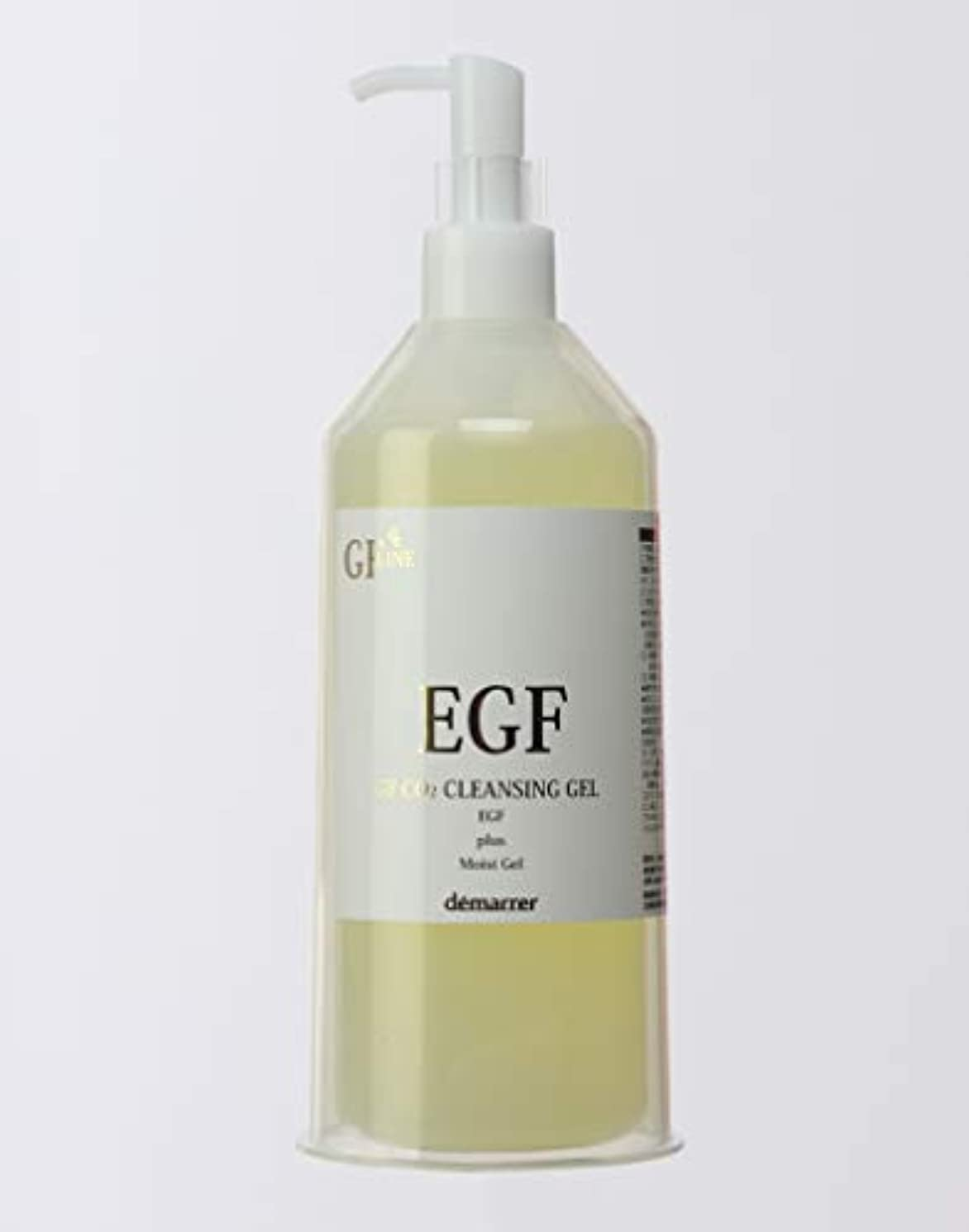 バッジ活力道徳教育デマレ GF 炭酸洗顔クレンジング  400g  ジェルタイプのクレンジング