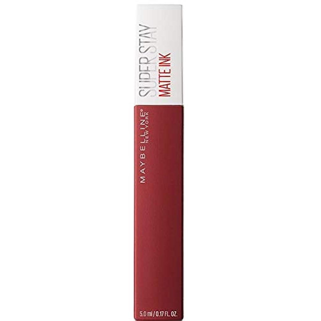 サークル週間エンゲージメント[Maybelline ] メイベリンSuperstayマットインク液50ボイジャー - Maybelline Superstay Matte Ink Liquid 50 Voyager [並行輸入品]