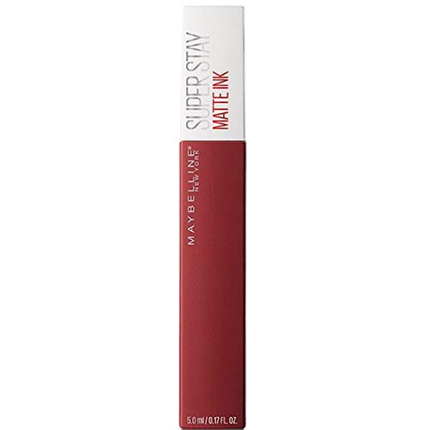 パイプライン締める強打[Maybelline ] メイベリンSuperstayマットインク液50ボイジャー - Maybelline Superstay Matte Ink Liquid 50 Voyager [並行輸入品]