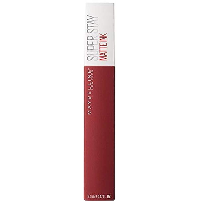 倫理的エトナ山涙[Maybelline ] メイベリンSuperstayマットインク液50ボイジャー - Maybelline Superstay Matte Ink Liquid 50 Voyager [並行輸入品]