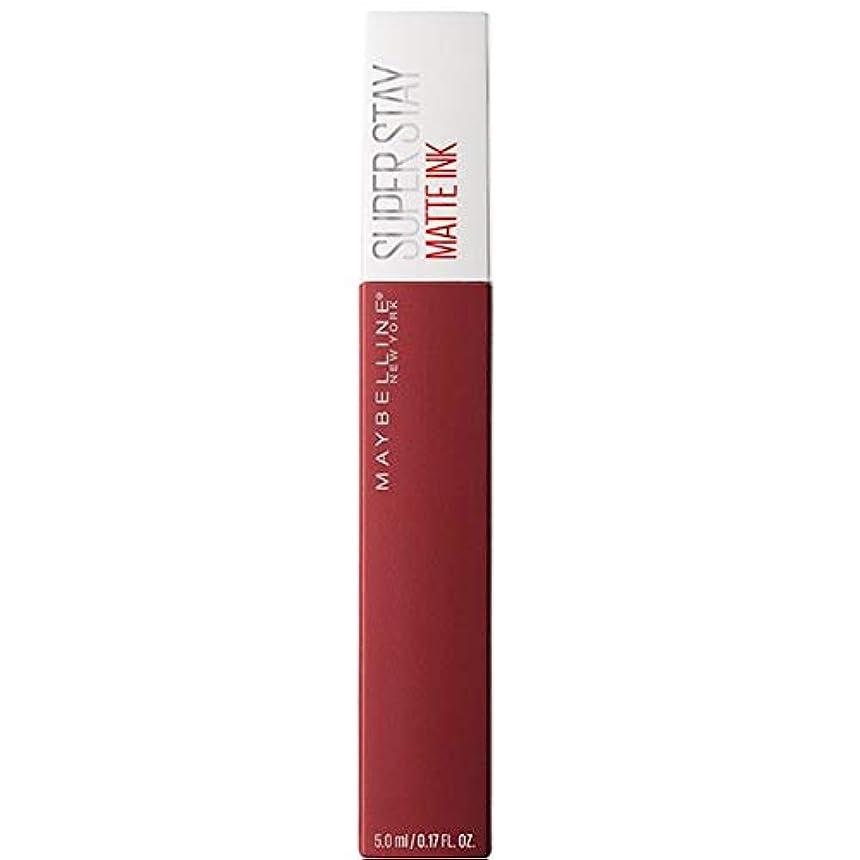 誇大妄想敷居ライナー[Maybelline ] メイベリンSuperstayマットインク液50ボイジャー - Maybelline Superstay Matte Ink Liquid 50 Voyager [並行輸入品]