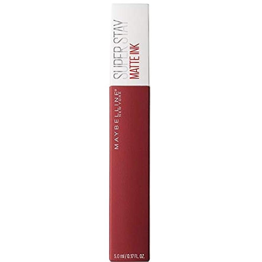 里親理容室保存[Maybelline ] メイベリンSuperstayマットインク液50ボイジャー - Maybelline Superstay Matte Ink Liquid 50 Voyager [並行輸入品]