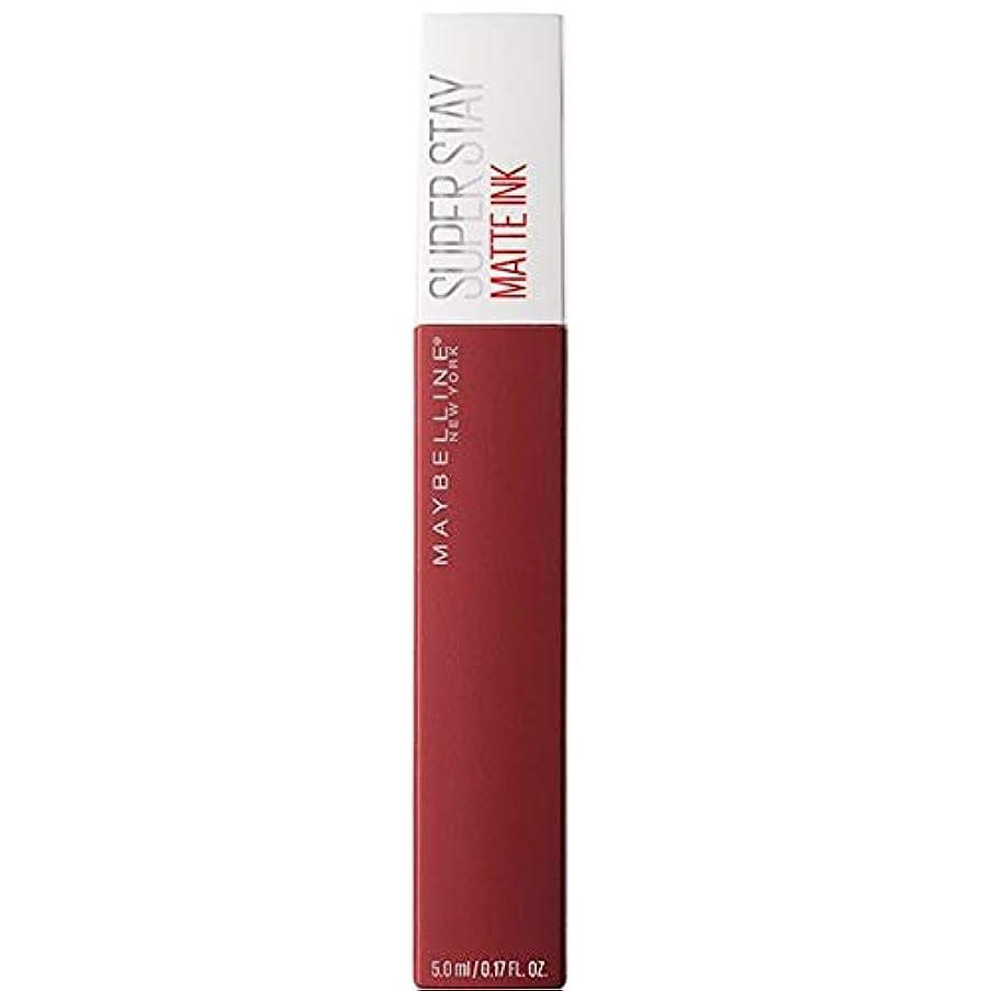 インカ帝国大声でくしゃくしゃ[Maybelline ] メイベリンSuperstayマットインク液50ボイジャー - Maybelline Superstay Matte Ink Liquid 50 Voyager [並行輸入品]