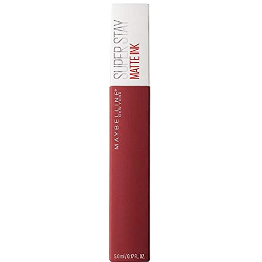 リズム追放する広まった[Maybelline ] メイベリンSuperstayマットインク液50ボイジャー - Maybelline Superstay Matte Ink Liquid 50 Voyager [並行輸入品]