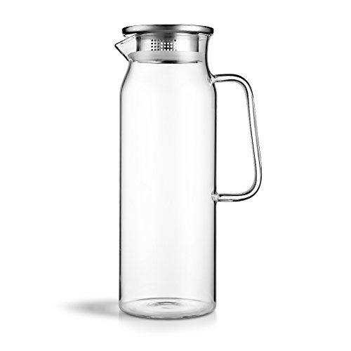 BEYONDA(べおんだ)1.7L耐熱 冷水筒 ピッチャー ガラスケトル ウォータージャグ キャストGYBL689001