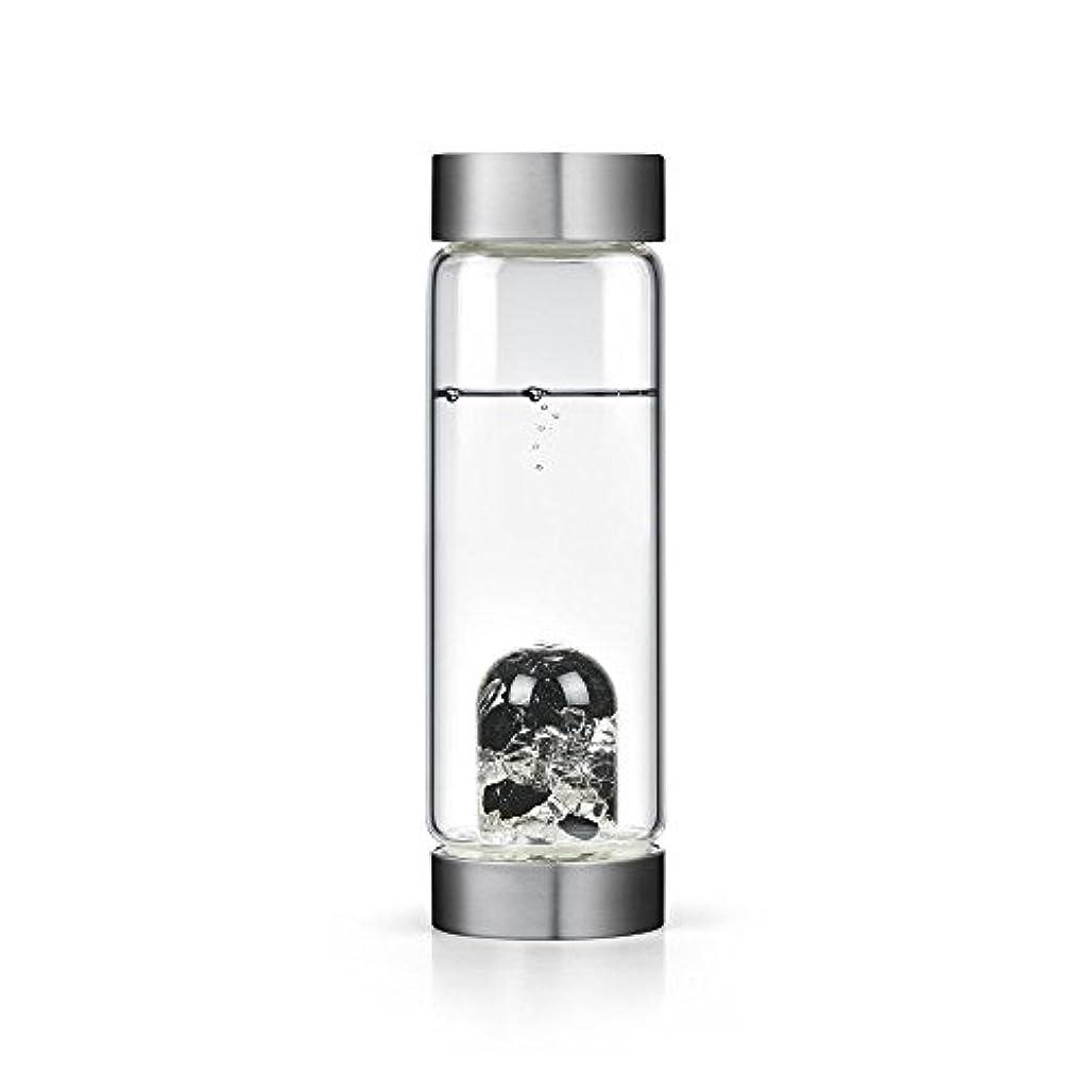 ピニオン稼ぐどうしたのビジョンクリスタルエディションgem-waterボトルby VitaJuwel W / Freeカリフォルニアホワイトセージバンドル 16.9 fl oz