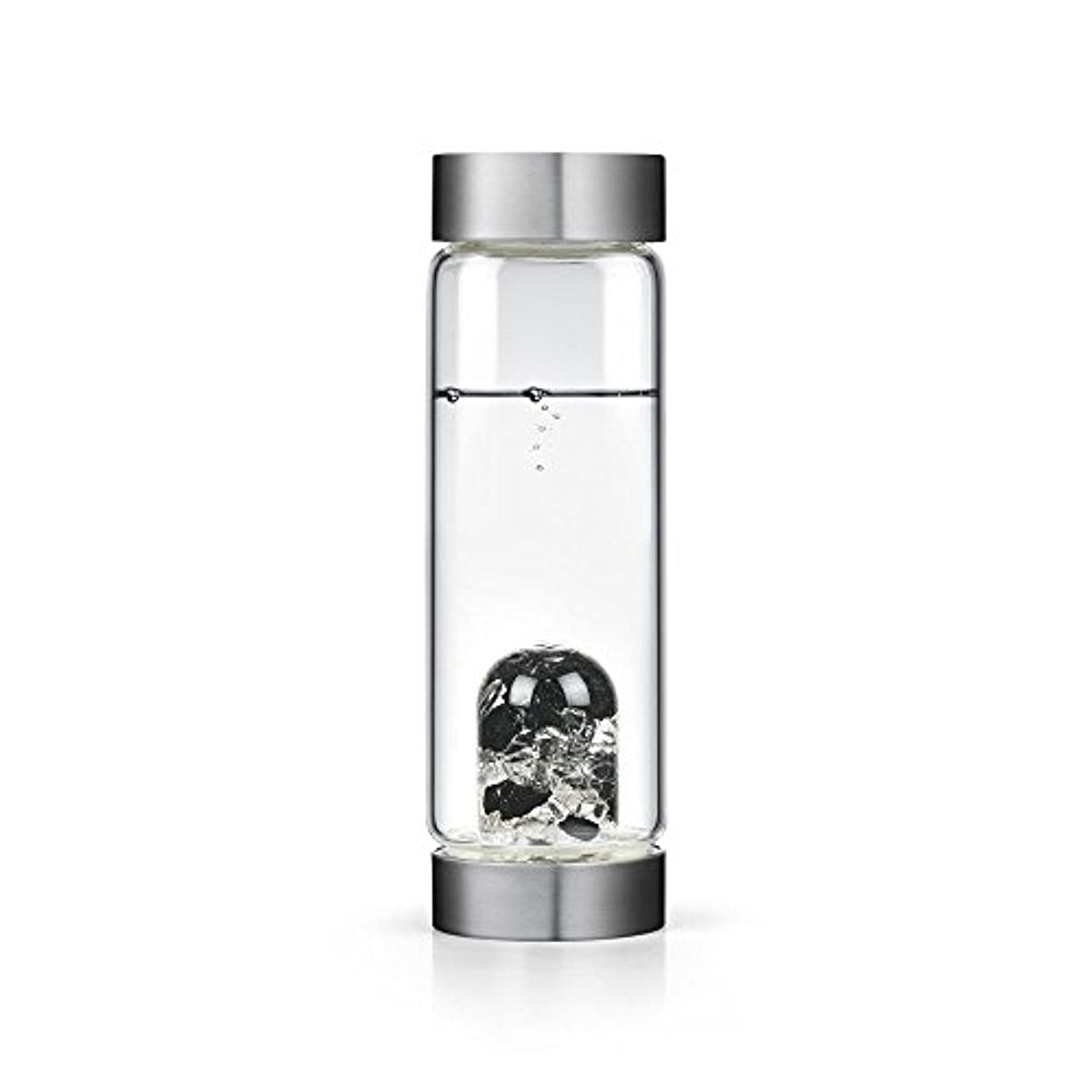 感性墓地疑わしいビジョンクリスタルエディションgem-waterボトルby VitaJuwel W / Freeカリフォルニアホワイトセージバンドル 16.9 fl oz
