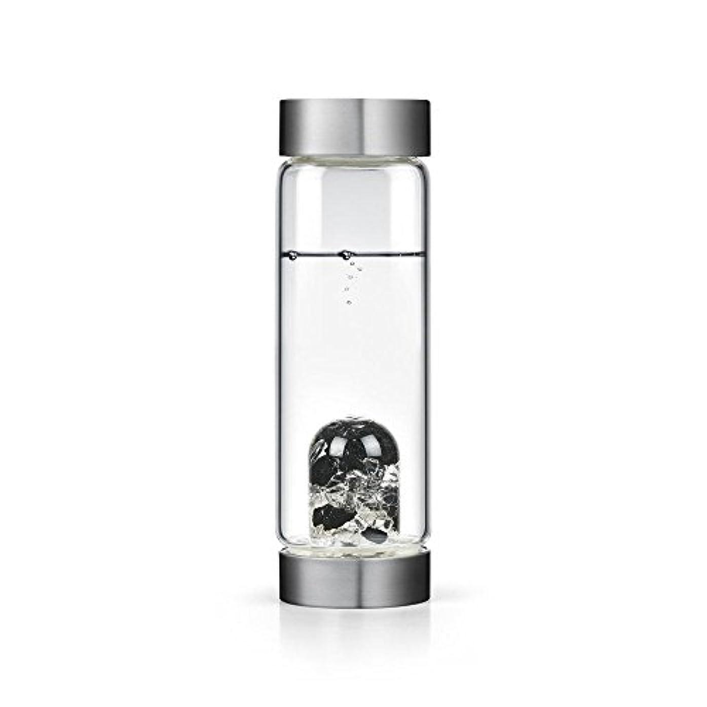 発見木化石ビジョンクリスタルエディションgem-waterボトルby VitaJuwel W / Freeカリフォルニアホワイトセージバンドル 16.9 fl oz
