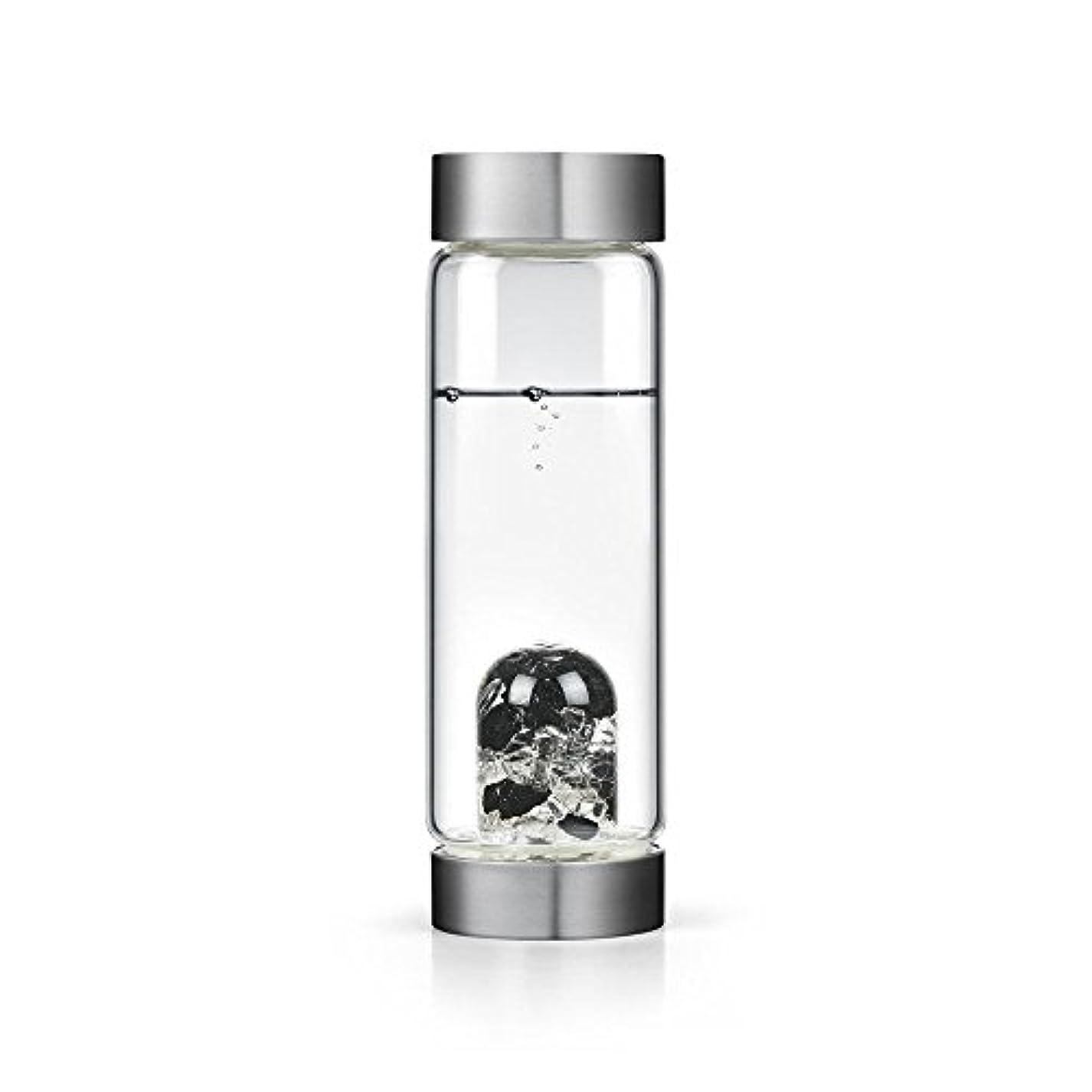 ビジョンクリスタルエディションgem-waterボトルby VitaJuwel W / Freeカリフォルニアホワイトセージバンドル 16.9 fl oz