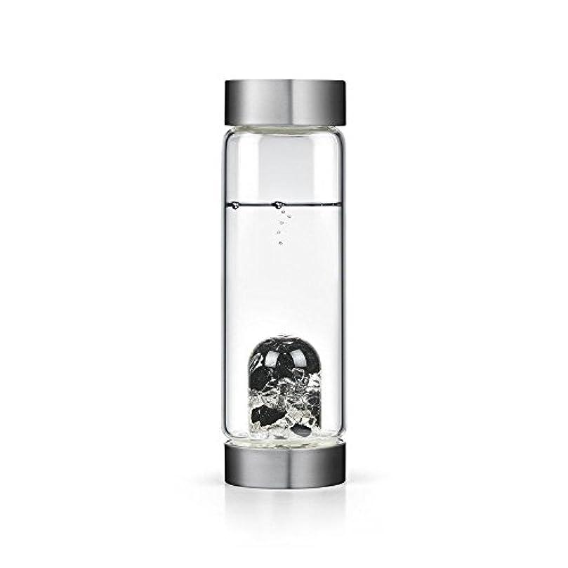 一見一般快適ビジョンクリスタルエディションgem-waterボトルby VitaJuwel W / Freeカリフォルニアホワイトセージバンドル 16.9 fl oz