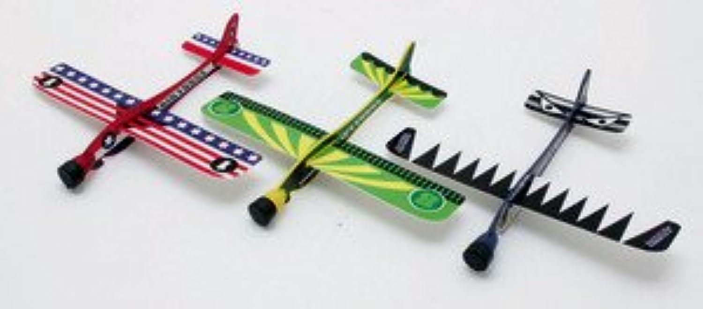2016年こどもプレゼント 紙飛行機 マッハグライダー 6セットまとめ買い *いろは選べません