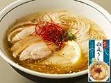 比内地鶏スープで食べる稲庭うどん 塩味