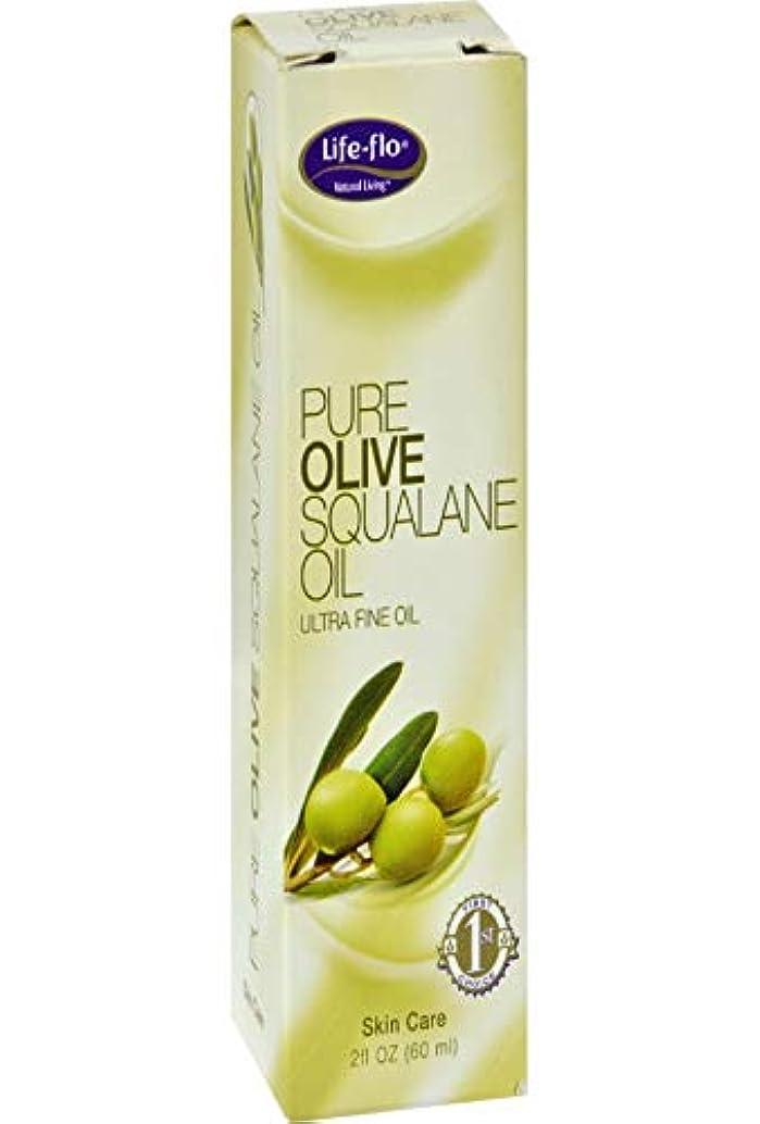 社交的鉱石流行Life-Flo Pure Olive Squalane Oil, 2 oz