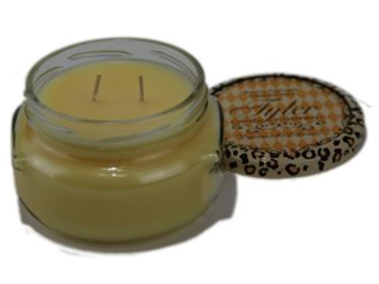 トラフィックめまい申し立てBUTTER VANILLA Tyler 11 oz Medium Scented Jar Candle [並行輸入品]