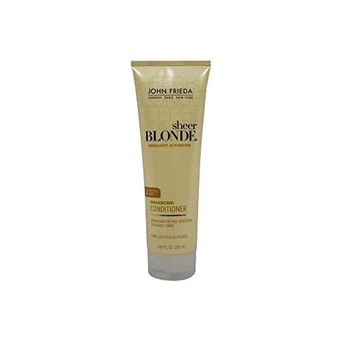 戦艦つぼみ湿原John Frieda Sheer Blonde Highlight Activating Enhancing Conditioner (For Lighter Blondes), 8.45 Oz by John Frieda