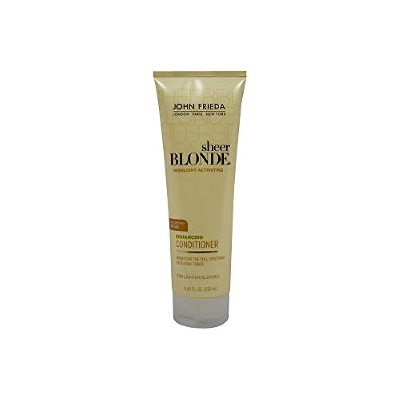 タンカーモザイクモバイルJohn Frieda Sheer Blonde Highlight Activating Enhancing Conditioner (For Lighter Blondes), 8.45 Oz by John Frieda