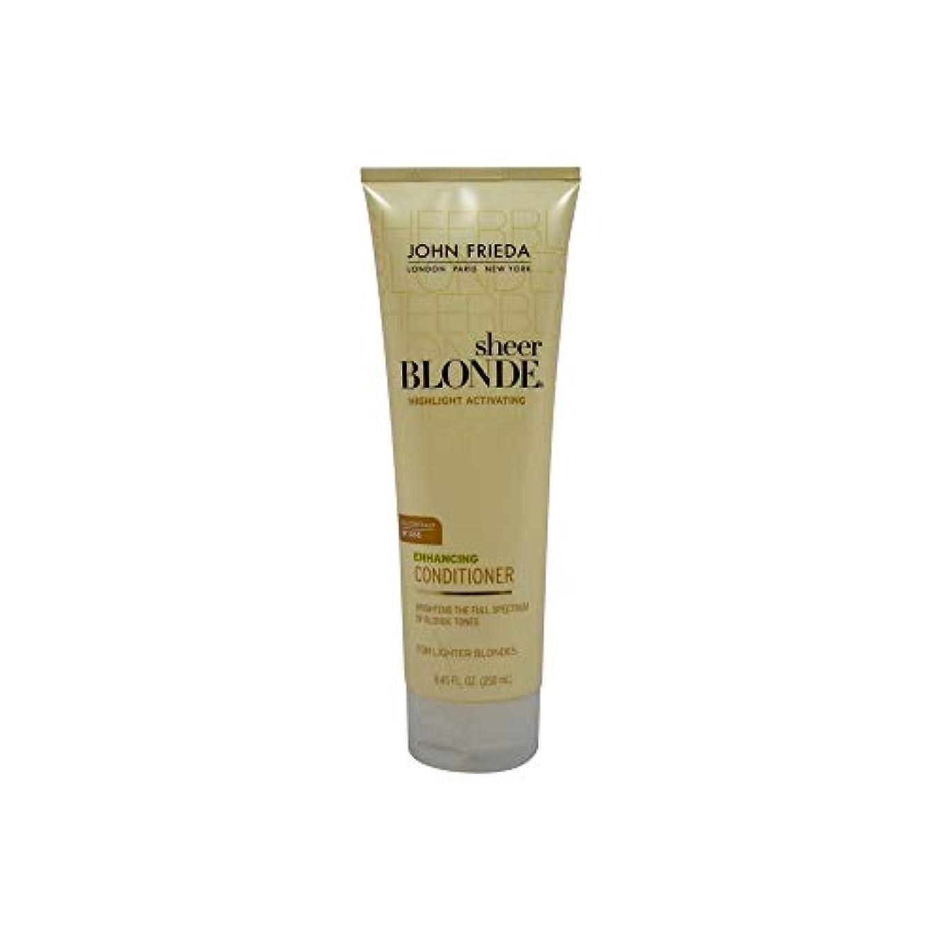 散文手錠趣味John Frieda Sheer Blonde Highlight Activating Enhancing Conditioner (For Lighter Blondes), 8.45 Oz by John Frieda