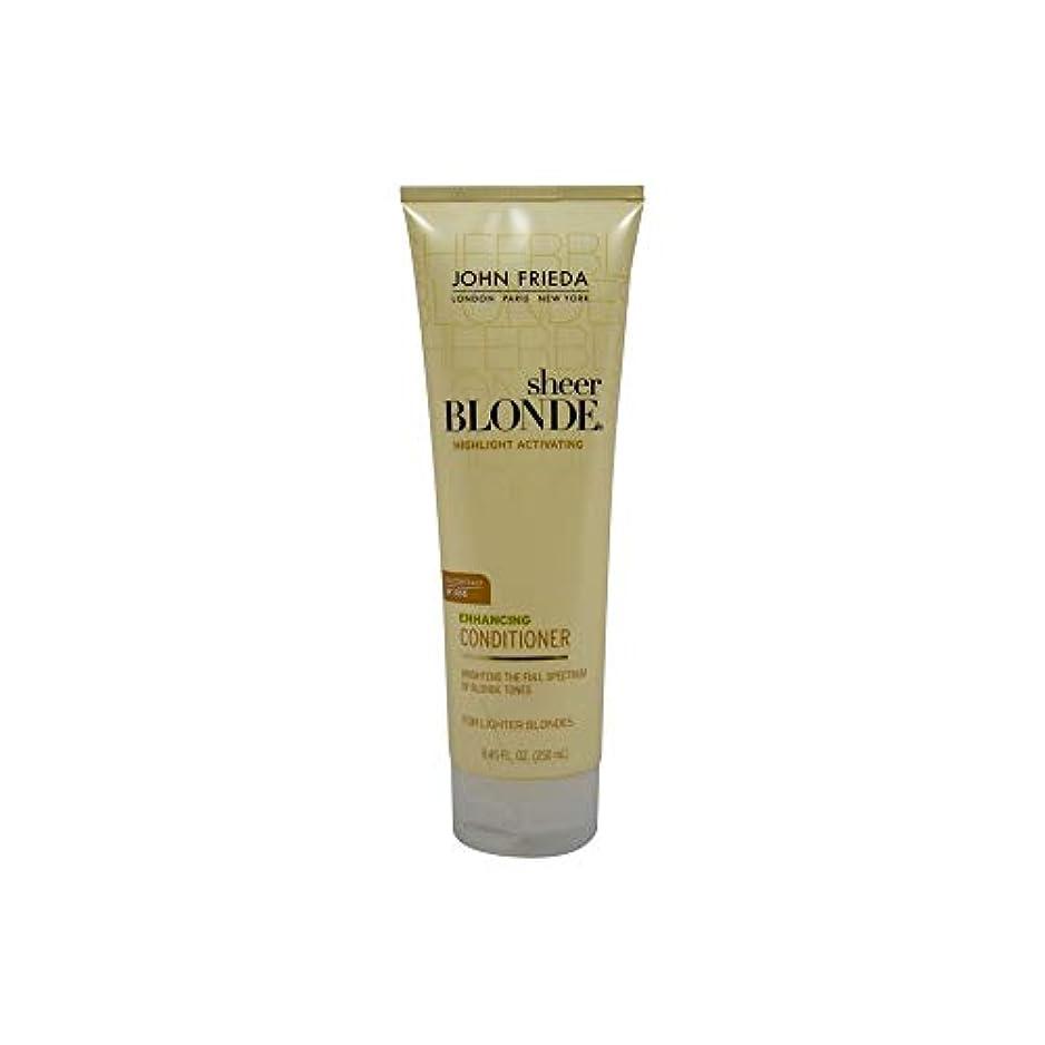見えるスリットつぶやきJohn Frieda Sheer Blonde Highlight Activating Enhancing Conditioner (For Lighter Blondes), 8.45 Oz by John Frieda