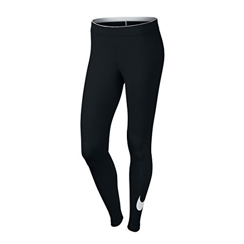 NIKE WOMENS CLUB LOGO 2 LEGGINGS レギンス (815997 010) (WOMENS(XS)) [並行輸入品]
