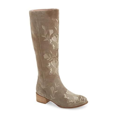 セイシェルズ シューズ ブーツ&レインブーツ Seychelles Callback Embroidered Boot (Wo Taupe Sued [並行輸入品]