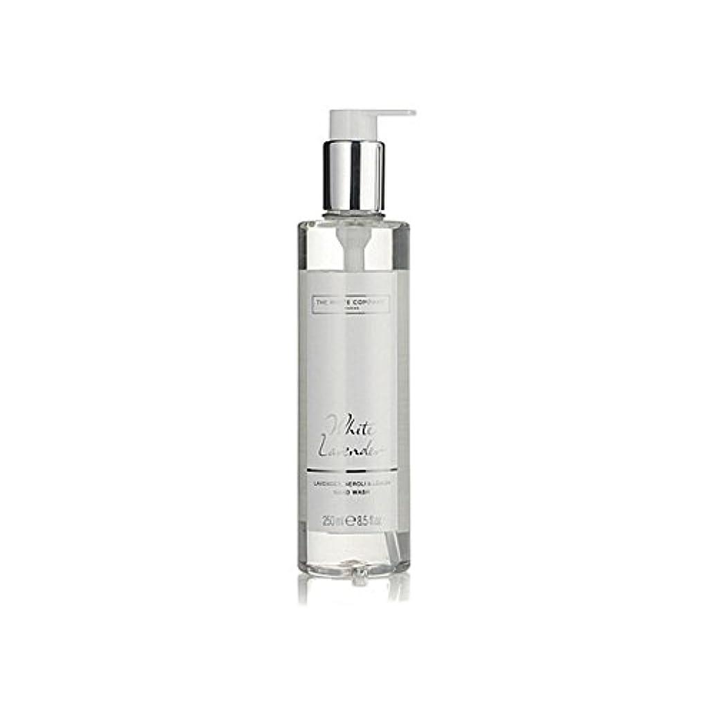 乗って化学薬品航海の白同社白ラベンダーハンドウォッシュ x2 - The White Company White Lavender Hand Wash (Pack of 2) [並行輸入品]