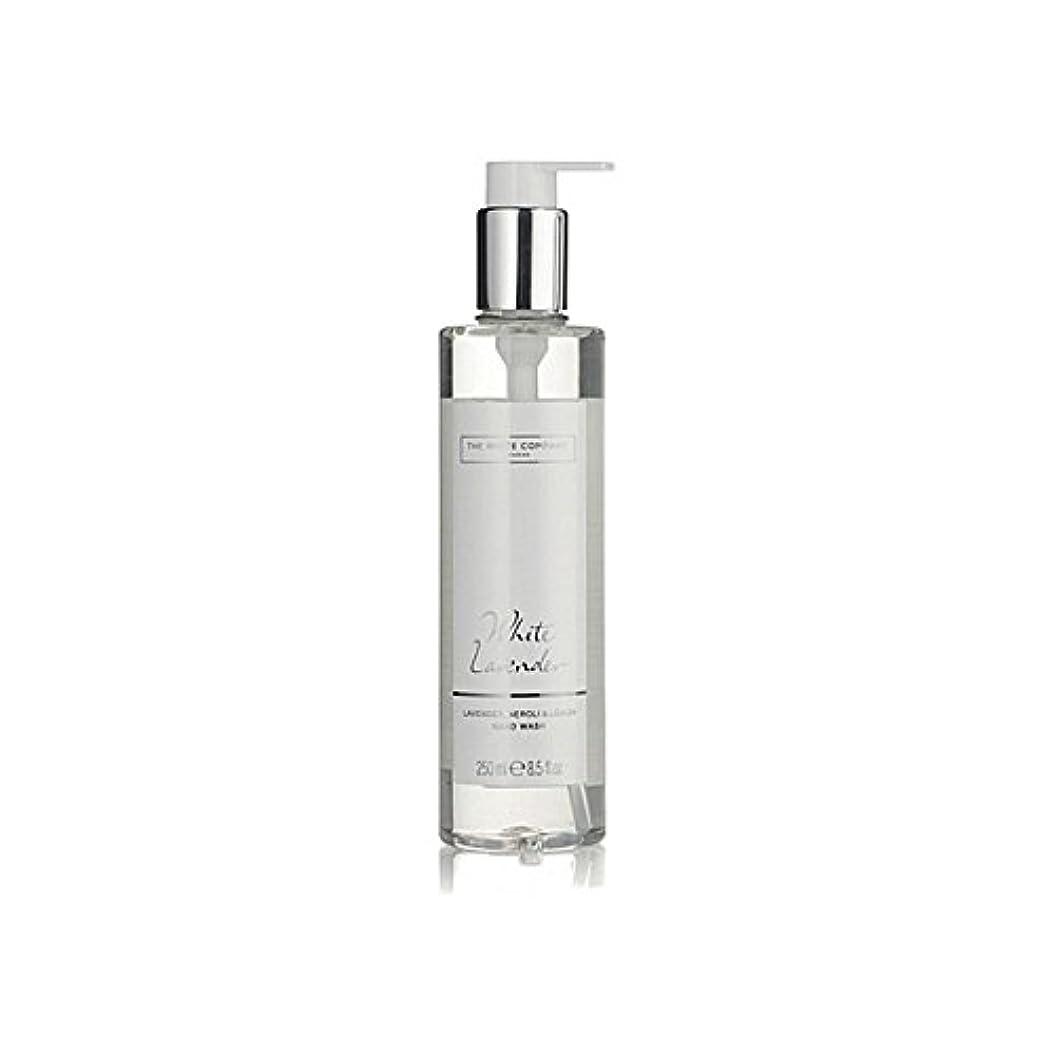 鏡兵器庫無駄だ白同社白ラベンダーハンドウォッシュ x2 - The White Company White Lavender Hand Wash (Pack of 2) [並行輸入品]