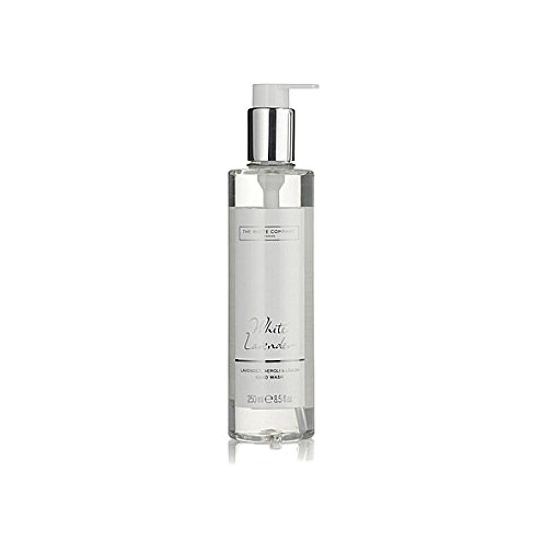 代替案を除くクレタ白同社白ラベンダーハンドウォッシュ x2 - The White Company White Lavender Hand Wash (Pack of 2) [並行輸入品]