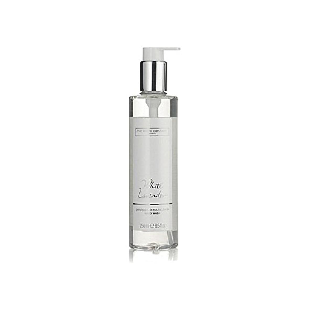 白同社白ラベンダーハンドウォッシュ x2 - The White Company White Lavender Hand Wash (Pack of 2) [並行輸入品]